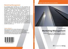 Bookcover of Marketing-Management