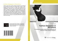 Fashion Designers in Barcelona kitap kapağı