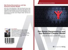 Portada del libro de Der Homo Oeconomicus und das Rational Cheater Model