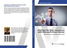 Couverture de Interface for Web interaction with Microsoft Kinect Sensor