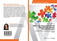 Buchcover von SROI - ein Argument für die Rentabilität sozialer Dienstleistungen