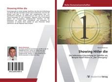 Buchcover von Showing Hitler die