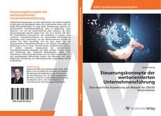Steuerungskonzepte der wertorientierten Unternehmensführung kitap kapağı