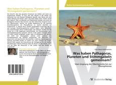 Buchcover von Was haben Pythagoras, Planeten und Stimmgabeln gemeinsam?