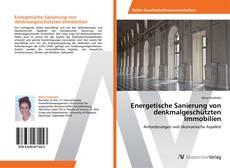 Bookcover of Energetische Sanierung von denkmalgeschützten Immobilien