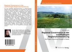 Regional Governance in der nachhaltigen Regionalentwicklung的封面