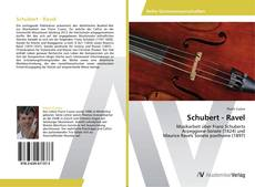 Couverture de Schubert - Ravel