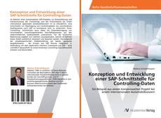 Couverture de Konzeption und Entwicklung einer SAP-Schnittstelle für Controlling-Daten