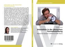 Bookcover of Intonation in der deutschen Fernsehwerbung