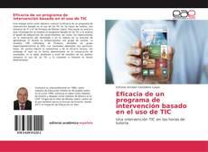 Portada del libro de Eficacia de un programa de intervención basado en el uso de TIC