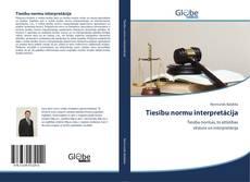 Tiesību normu interpretācija kitap kapağı
