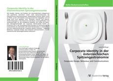Corporate Identity in der österreichischen Spitzengastronomie kitap kapağı