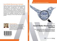 Bookcover of Social Media Monitoring in Sachsen