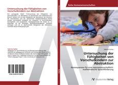 Portada del libro de Untersuchung der Fähigkeiten von Vorschulkindern zur Abstraktion