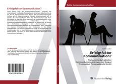 Capa do livro de Erfolgsfaktor Kommunikation?