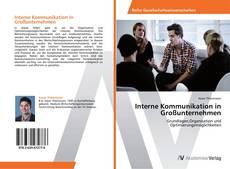 Buchcover von Interne Kommunikation in Großunternehmen