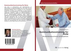 Capa do livro de Kommunikationstraining für Ärzte