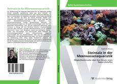 Couverture de Steinsalz in der Meerwasseraquaristik