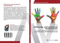 """Bookcover of Erfahrungs- und Lernbereich """"Gemeinschaft"""""""