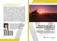 Buchcover von Musikalische Lyrik in Eichendorff Mondnacht Vertonungen