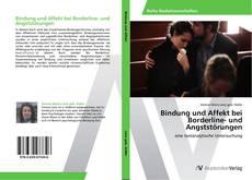 Bookcover of Bindung und Affekt bei Borderline- und Angststörungen