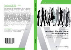 Buchcover von Tourismus für Alle – eine Situationsanalyse
