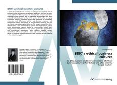 Bookcover of BRIC' s ethical business cultures