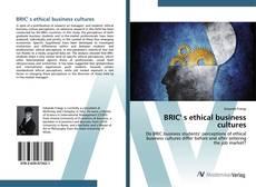 Capa do livro de BRIC' s ethical business cultures