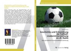 Capa do livro de Geschichte und Entwicklung der Fußball-Liveberichterstattung im dt. Radio