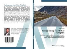 Capa do livro de Auslagerung staatlicher Tätigkeit