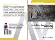 Gedächtnis, Geschichte und Erinnerung的封面