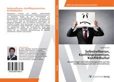 Buchcover von Selbstreflexion, Konfliktprävention, Konfliktkultur