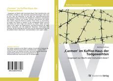 Buchcover von 'Carmen' im Kaffee-Haus der Todgeweihten
