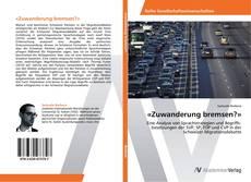 Capa do livro de «Zuwanderung bremsen?»