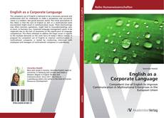 Buchcover von English as a Corporate Language