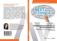 Buchcover von Wettbewerbsvorteile durch Qualitätsstandards