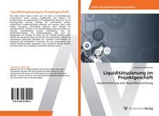 Liquiditätsplanung im Projektgeschäft的封面