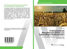 Bookcover of Fraktionierende Phosphorextraktion aus kalkhaltigen Bodenproben