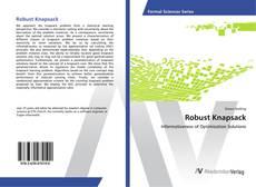 Robust Knapsack kitap kapağı