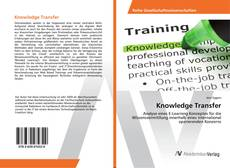 Portada del libro de Knowledge Transfer