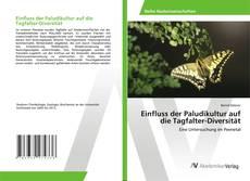 Bookcover of Einfluss der Paludikultur auf die Tagfalter-Diversität