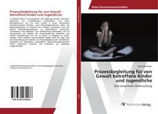Prozessbegleitung für von Gewalt betroffene Kinder und Jugendliche kitap kapağı