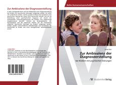 Capa do livro de Zur Ambivalenz der Diagnoseerstellung