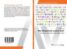 "Bookcover of ""Der Körperkult unserer Zeit"""