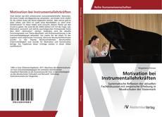 Обложка Motivation bei Instrumentallehrkräften