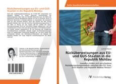 Bookcover of Rücküberweisungen aus EU- und GUS-Staaten in die Republik Moldau