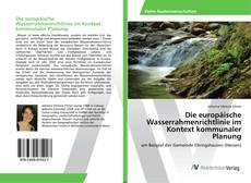 Bookcover of Die europäische Wasserrahmenrichtlinie im Kontext kommunaler Planung