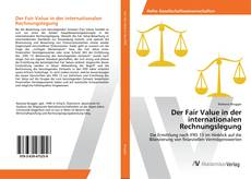 Borítókép a  Der Fair Value in der internationalen Rechnungslegung - hoz