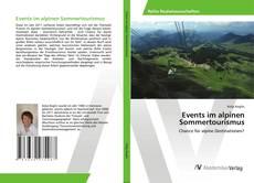 Events im alpinen Sommertourismus kitap kapağı