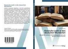 Portada del libro de Slawische Lexik in den deutschen Mundarten